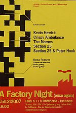 A Factory Night (Once Again) Recorded At Plan K Brussels 15/12/2007