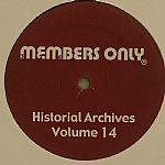Historical Archives Volume 14