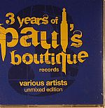 3 Years Of Paul's Boutique Records