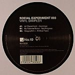Social Experiment 003 Vinyl Sampler