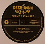 BRAME/KLANSEE - Alright EP