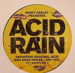 "Terry Farley Presents Acid Rain: Definitive Original Acid & Deep House 1985-1991 12"" Sampler 1"