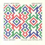African Bass Solo Concert: Willisav Jazz Festival 1978