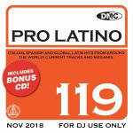 DMC Pro Latino 119: Italian Spanish & Global Latin Hits From Around The World (Strictly DJ Only)