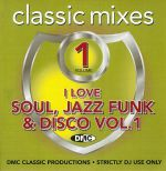 I Love Soul Jazz Funk & Disco Volume Vol 1 Strictly DJ Only