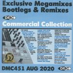 DMC Commercial Collection August 2020: Exclusive Megamixes Remixes & Two Trackers (Strictly DJ Only)
