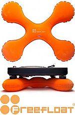 Freefloat Deck Turntable Stabilizers (orange)
