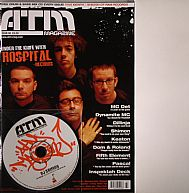 ATM Issue 60 (magazine including DJ Shimon cover CD; incl. features on MC Det, Dom & Roland, Keaton, etc.)