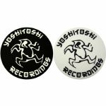 Slipmat Factory Yoshitoshi Slipmats (pair, black & white)