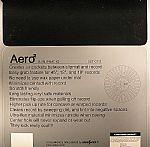 Aero II Slipmats (Black On Red)