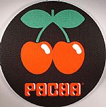 Slipmat Factory Pacha Slipmats (red & green on black)