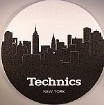DJ Pro Slipmats Skyline NY (black & white)