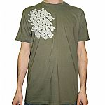 45 T-Shirt (olive with grey logo)