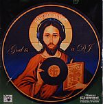 Glowtronics God Is A DJ Classic Non Glow Slipmats (pair)