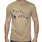Katapult Log T-Shirt (camel with black logo)