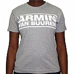 Armin Van Buuren T-Shirt (grey with white logo)