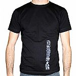 Boxer Sport T-Shirt (black with grey logo)