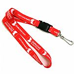 Defected Lanyard (red)