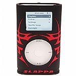 Slappa Shockshell Hardcase For iPod Mini (Red Stinger Tribal)