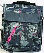 Blox Box DJ CD Airforce Bag (blue camo) (holds 240 CD's with 2 inside pockets)