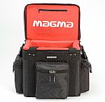 Magma LP60 Profi 12 Inch Vinyl Record Bag (black, red)