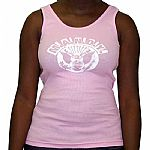MANDY Girl Vest (pink with white logo)