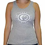 Get Physical Music Girl Vest (grey with white logo)