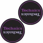 DMC Technics Limited Edition Slipmats (black, purple)