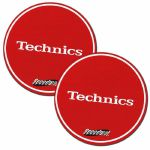 Technics Speedmats (red with white logo)
