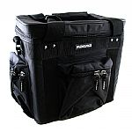 Magma LP60 12 Inch Vinyl Profi Record Bag (black, black)