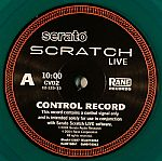 Rane Replacement Vinyl For Serato Scratch Live (Second Edition Limited Green Vinyl)