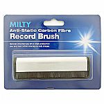 Milty Anti-Static Carbon Fibre Vinyl Record Brush