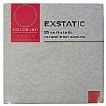 Goldring Exstatic Antistatic Record Inner Sleeves (pack of 25)