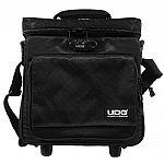 UDG Trolley To Go Hand Luggage DJ 12 Inch Vinyl Record Trolley (black)