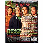 Amp Magazine Issue #31 Dec 2007 - Jan 2008 (feat Thrice, American Steel, Thursday, AFI, Say Anything, Best Of 2007, Inked In Blood, Avenged Sevenfold, The Cure)