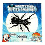 DJ Q-Bert Limited Edition Frosted Butter Rugs: Now With Icing! Slipmats (pair, black/white, design 1)