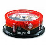 Maxell CDR80 XLII 80 Minute Blank CDs (spindle of 25)