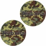 Slipmat Factory Technics Army Green Slipmats (pair, camo)