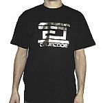 Drumcode T-shirt  (black with silver logo)