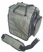 Agenda Trolley 8 Large Utility Bag (olive) (heavy duty 600D polyester ripstop/PVC fabric shell, a concealed telescopic aluminium trolley system, lightweight durable in-line wheel platform, double locking zip heads)