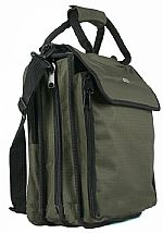 Agenda 320 + 16 Pro DJ CD Carry Case (olive) (heavy duty 600D polyester ripstop/PVC fabric shell, supplied with 40 x 8 capacity CD sleeves (total 320 capacity), toughened rubber corner protectors, detachable & adjustable shoulder strap with shoulder pad)