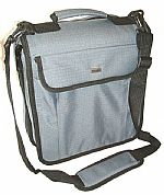 Agenda 160 + 16 Utility CD Carry Case (grey) (heavy duty 600D polyester ripstop/PVC fabric shell, supplied with 40 x 8 capacity CD sleeves (total 160 capacity), toughened rubber corner protectors, detachable & adjustable shoulder strap with shoulder pad)