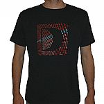 Defected 2009 Logo T-shirt (navy blue with red & blue design)