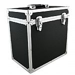 "Covers 33 12"" Vinyl Record Box Flight Case 50 (black)"