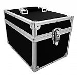 "Covers 33 7"" 45 Record Box Flight Case 100 (black)"