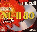 Maxell CDR80 Audio Blank Disc (single)