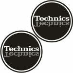 Technics Mirror Logo Slipmats (black, silver, white)