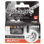 Alpine MusicSafe Classic Hearing Protection System Earplugs