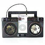 Suck UK Cardboard Classic iPod Mini Boom Box Amp & Speakers