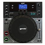Gemini CDJ-210 Professional Tabletop Scratch MP3/CD Player